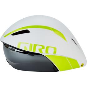Giro Aerohead MIPS Casco, matte white/citron